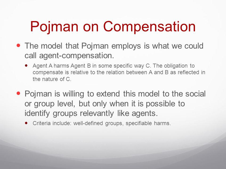 Pojman on Compensation