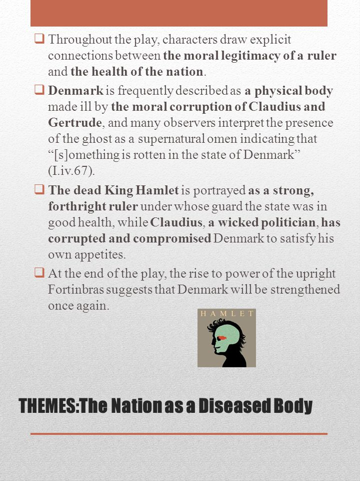 THEMES:The Nation as a Diseased Body