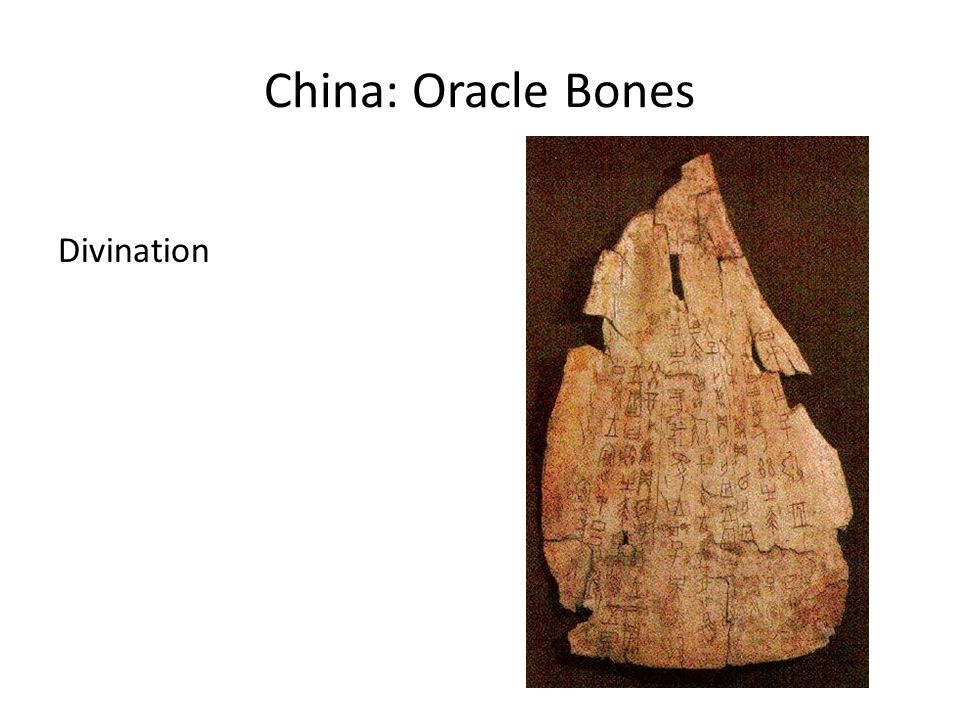 China: Oracle Bones Divination