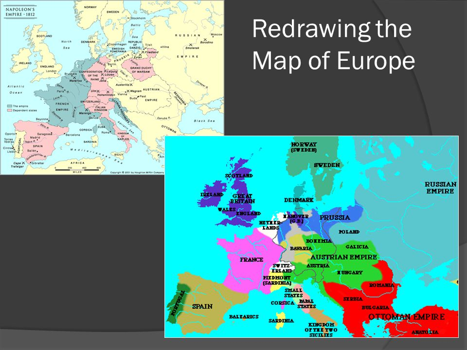 Redrawing the Map of Europe