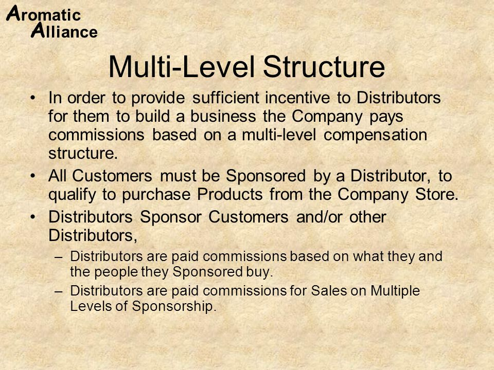 Multi-Level Structure