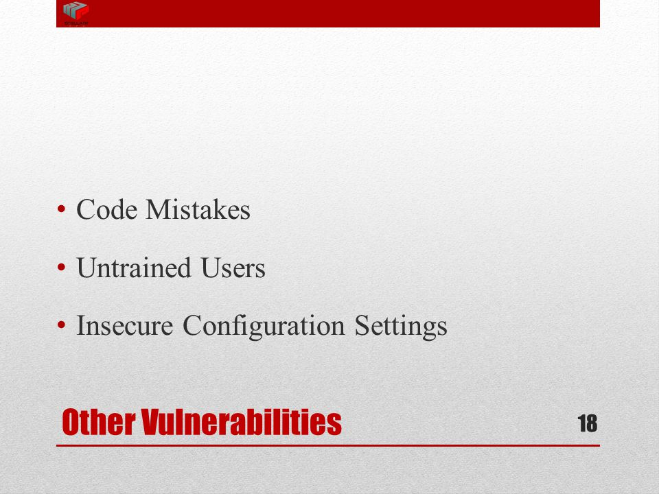 Other Vulnerabilities