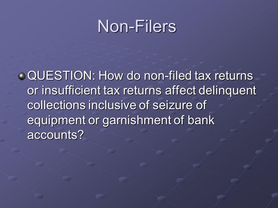 Non-Filers