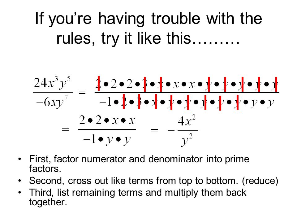 If you're having trouble with the rules, try it like this………
