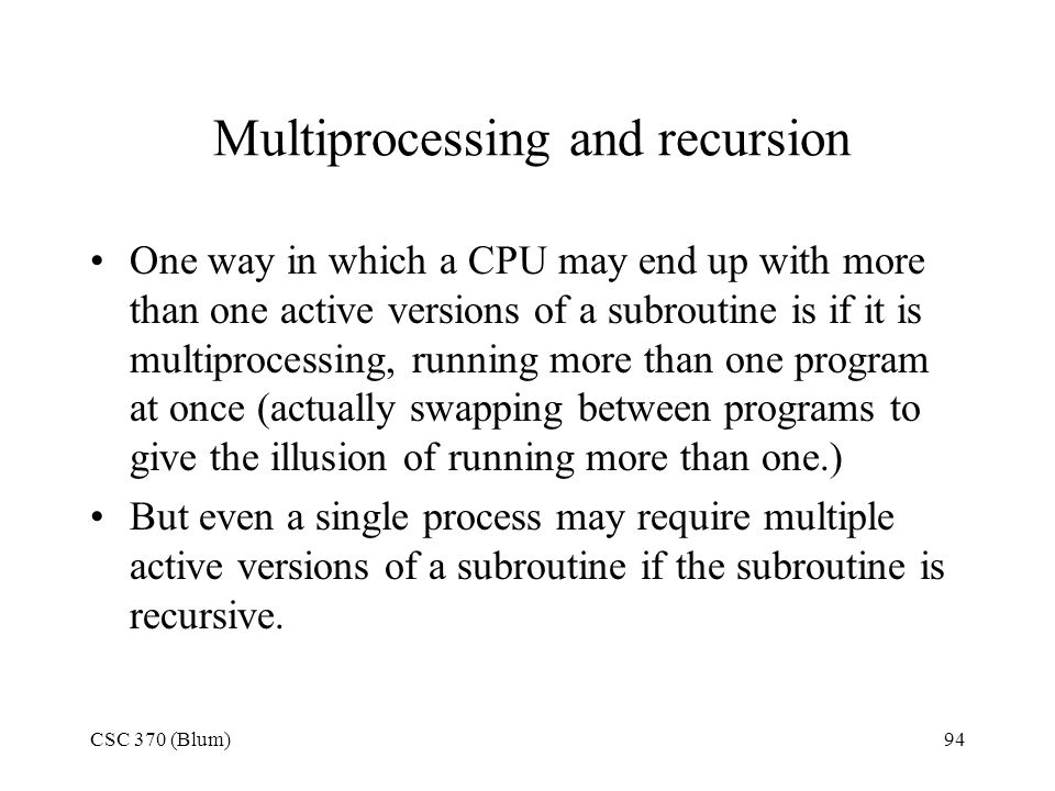 Multiprocessing and recursion