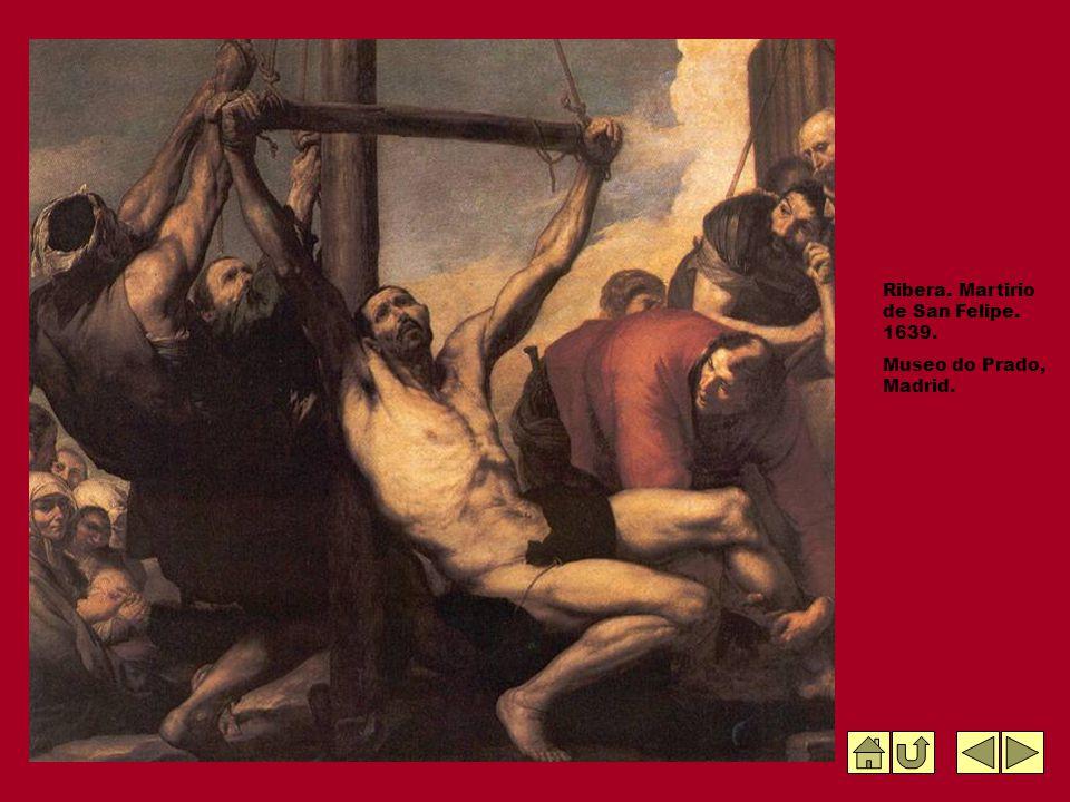 Ribera. Martirio de San Felipe. 1639.