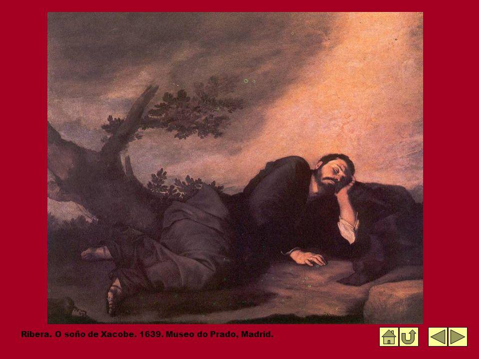 Ribera. O soño de Xacobe. 1639. Museo do Prado, Madrid.
