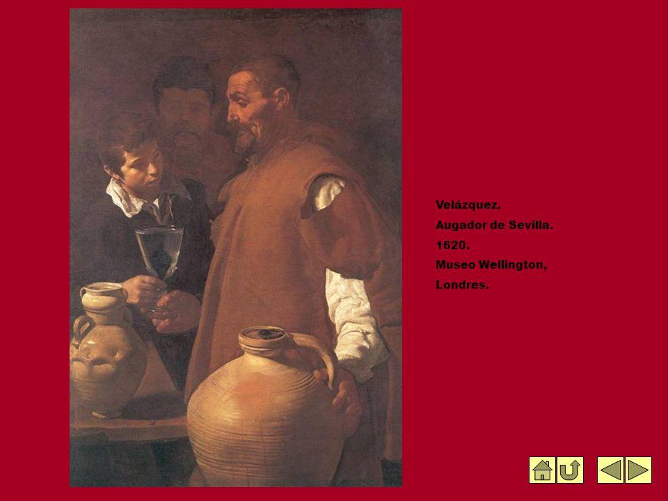 Velázquez. Augador de Sevilla. 1620. Museo Wellington, Londres.