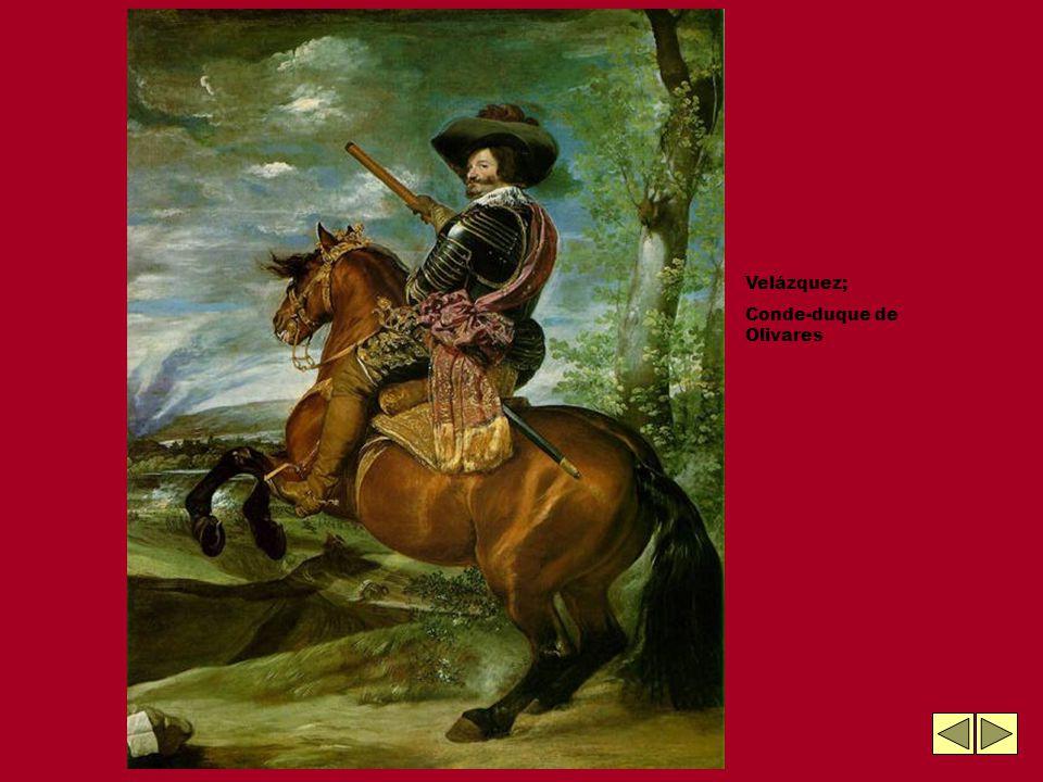 Velázquez; Conde-duque de Olivares