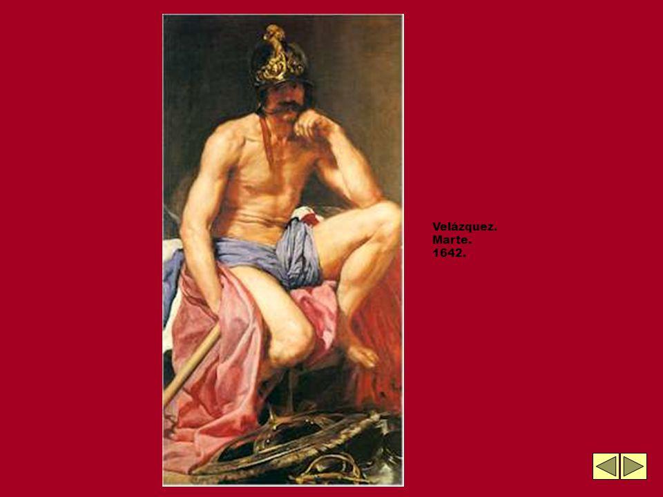 Velázquez. Marte. 1642.