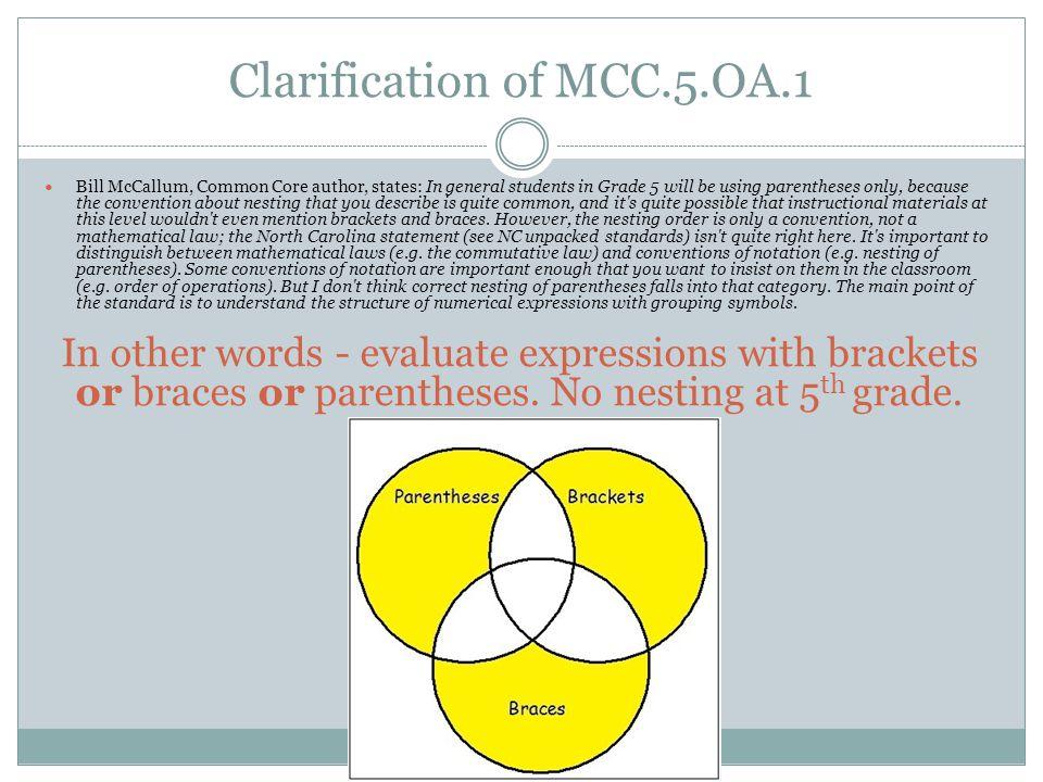 Clarification of MCC.5.OA.1