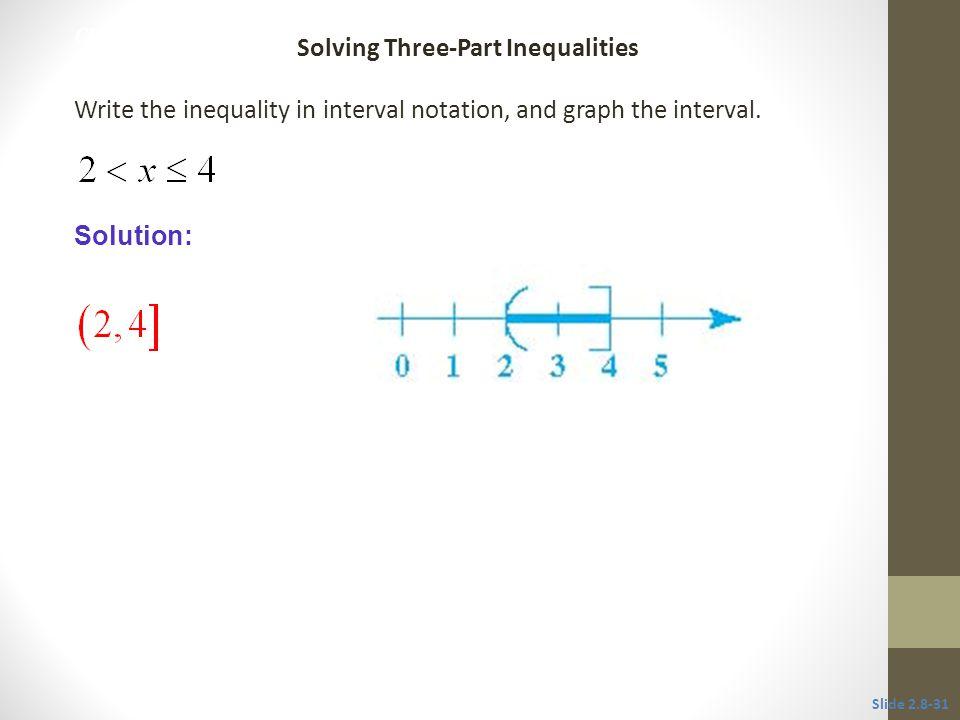 Solving Three-Part Inequalities