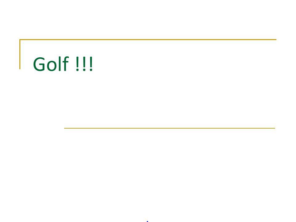 Golf !!!