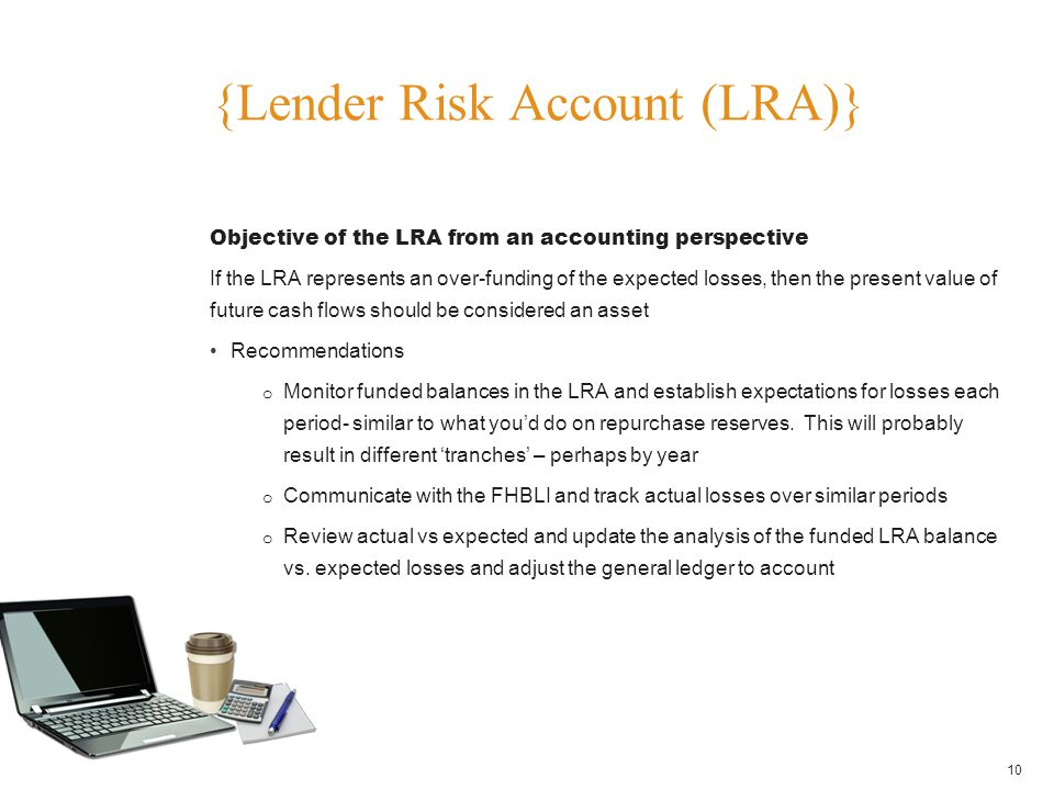 {Lender Risk Account (LRA)}