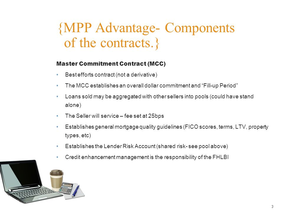 {MPP Advantage- Components of the contracts.}
