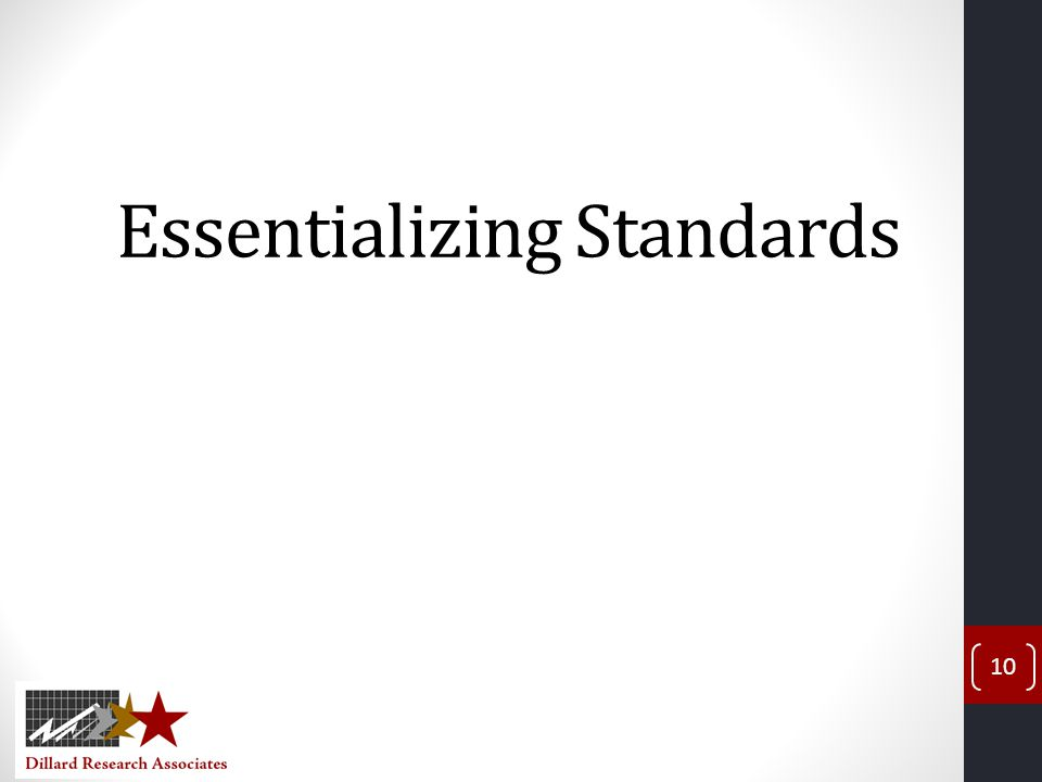 Essentializing Standards