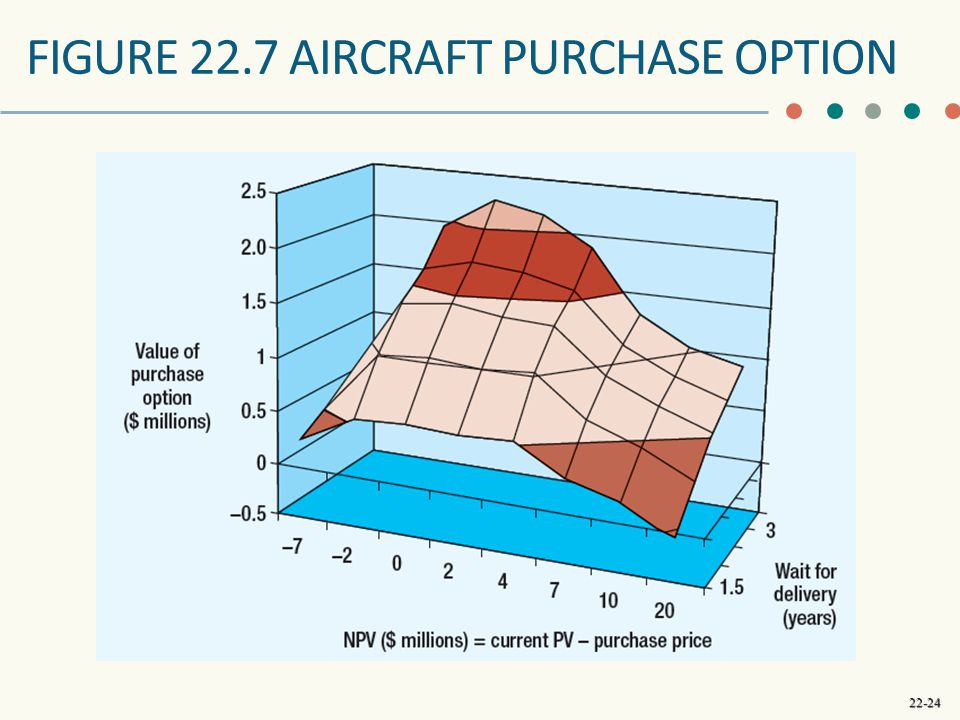 Figure 22.7 aircraft purchase option