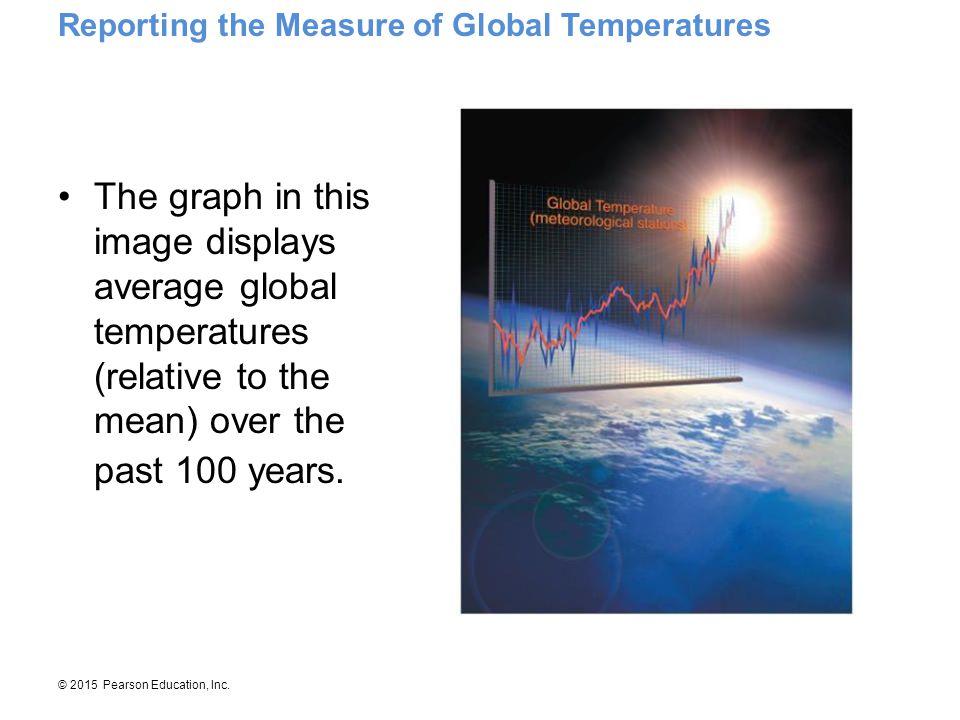 Reporting the Measure of Global Temperatures