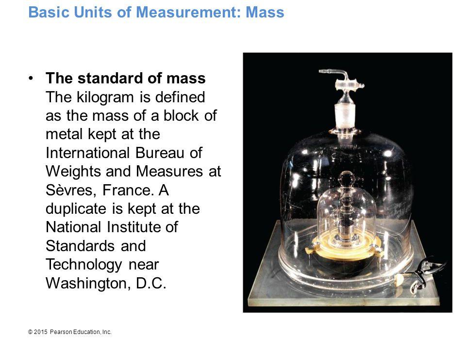 Basic Units of Measurement: Mass