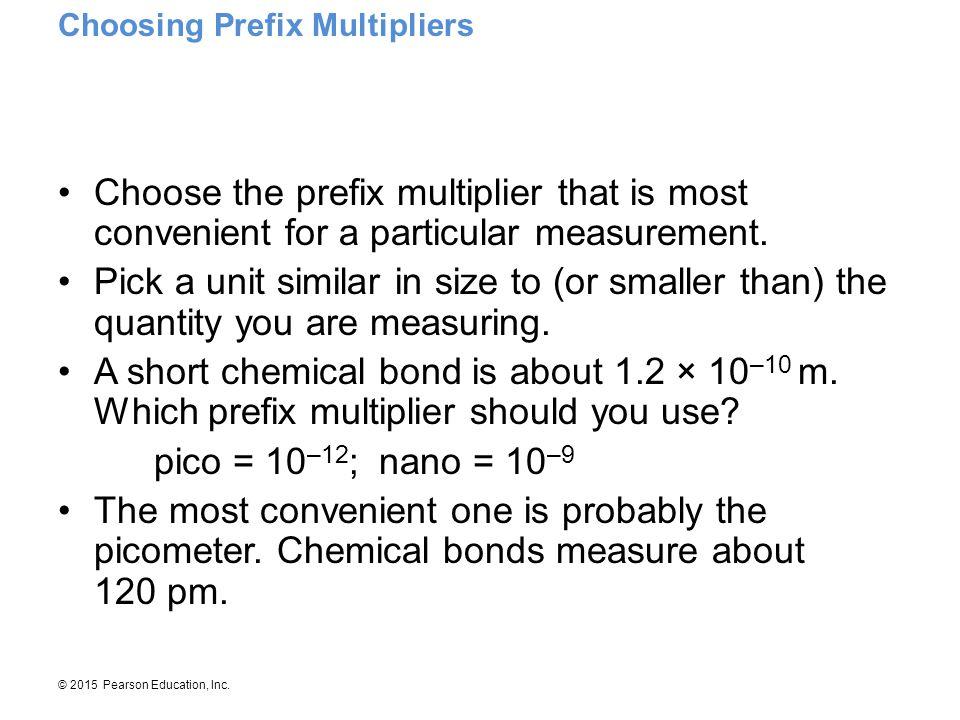 Choosing Prefix Multipliers