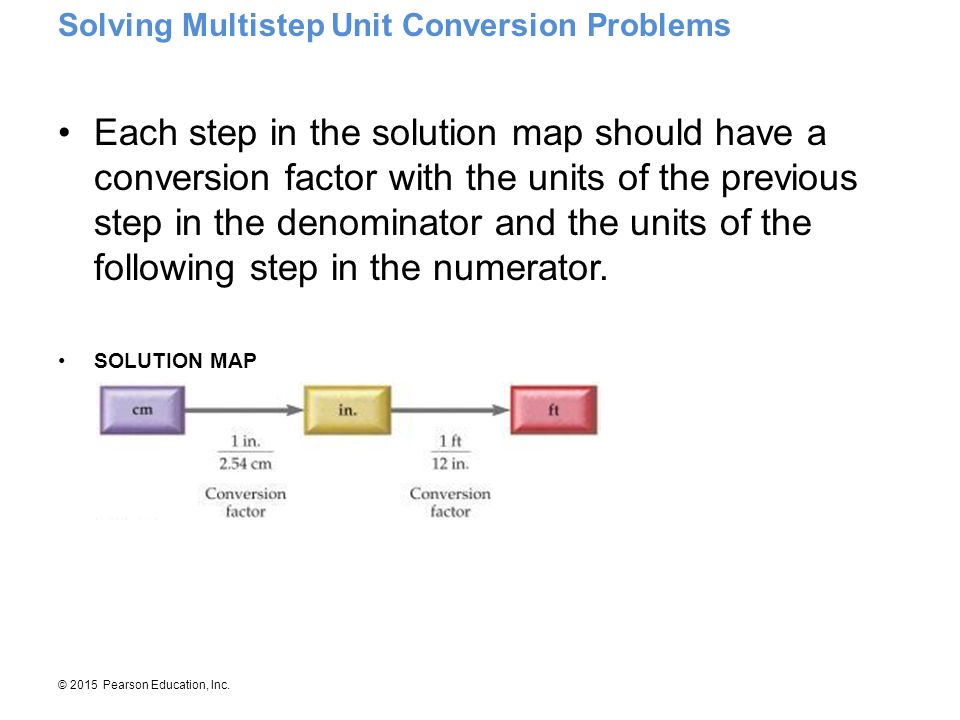 Solving Multistep Unit Conversion Problems
