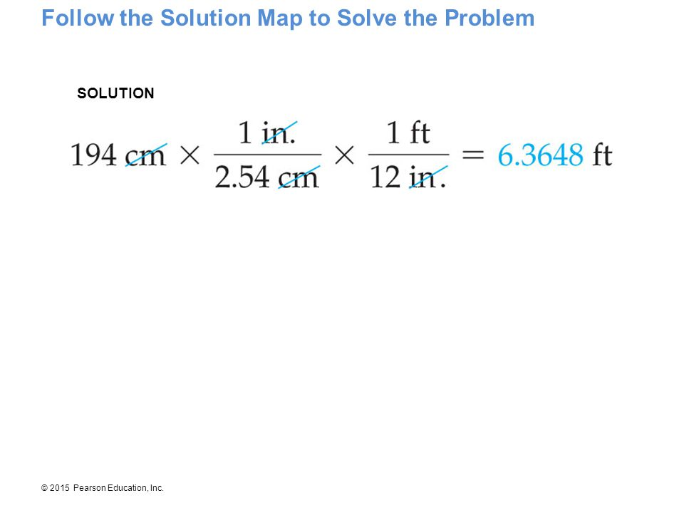 Follow the Solution Map to Solve the Problem