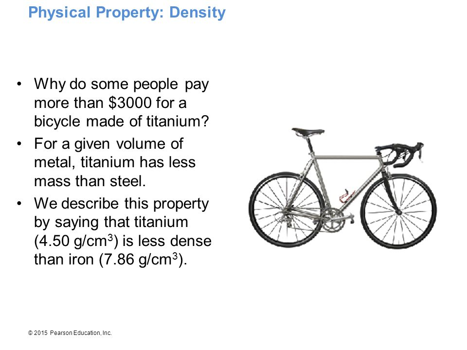 Physical Property: Density