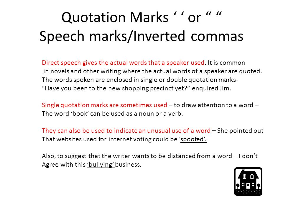 Do You Use Capital Letters In Speech Marks