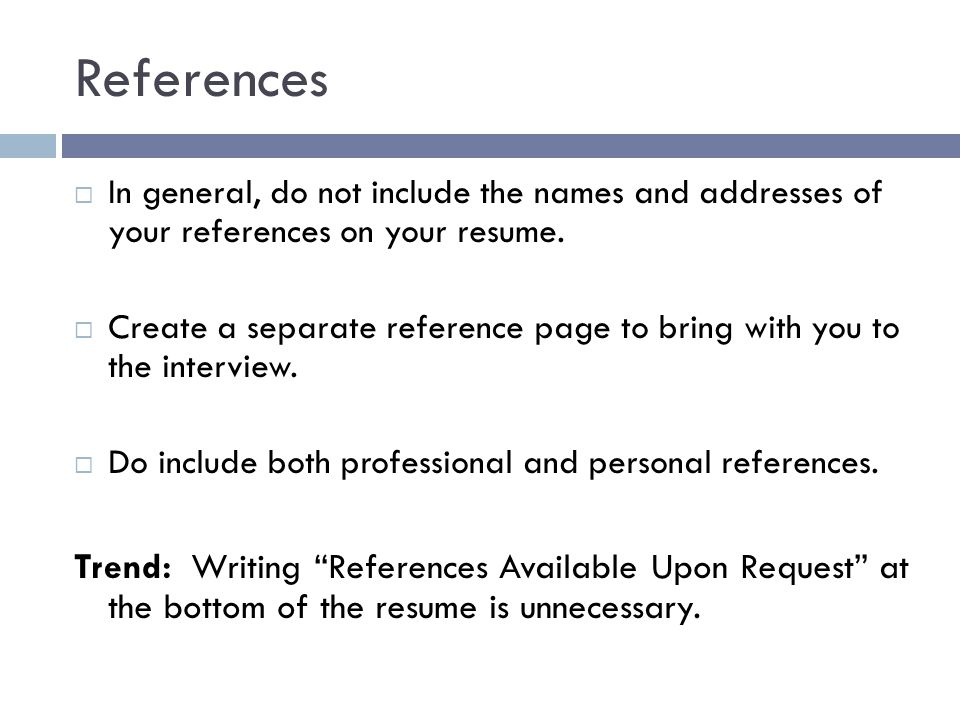 Resume Examples With References  Resume Examples And Free Resume