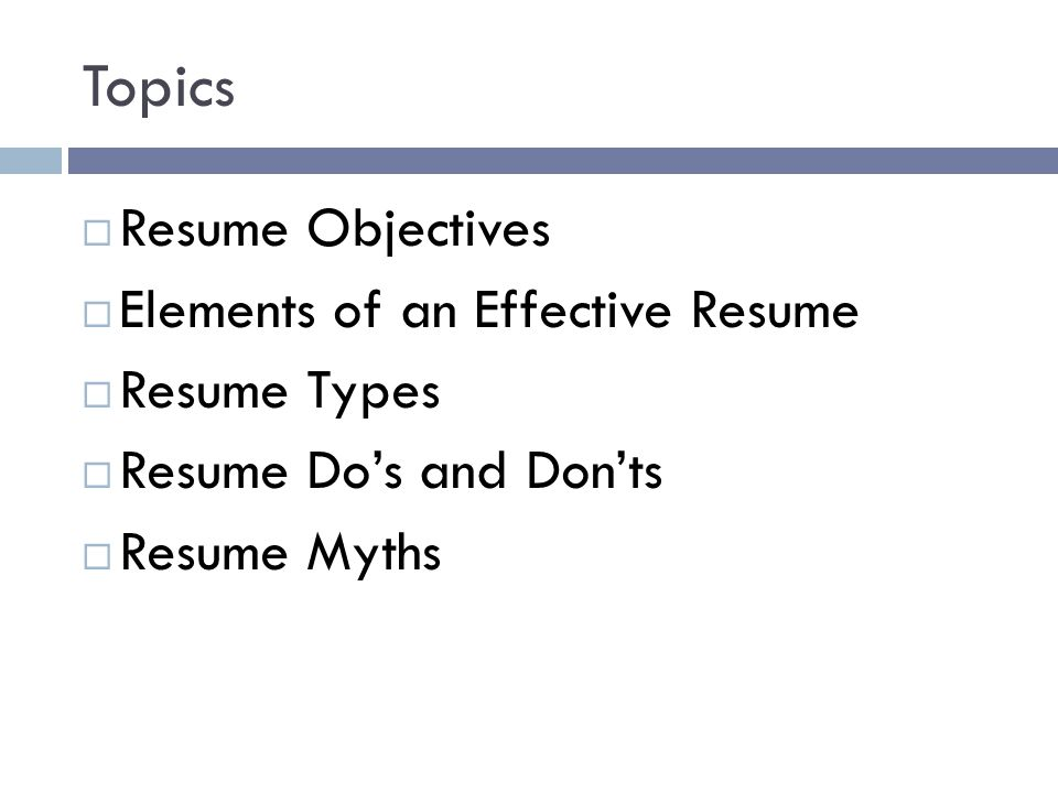 Resume Writing Tips  Ppt Download