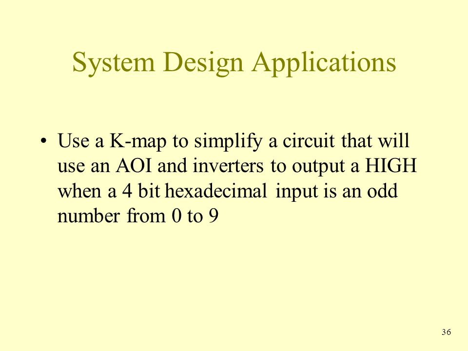 System Design Applications