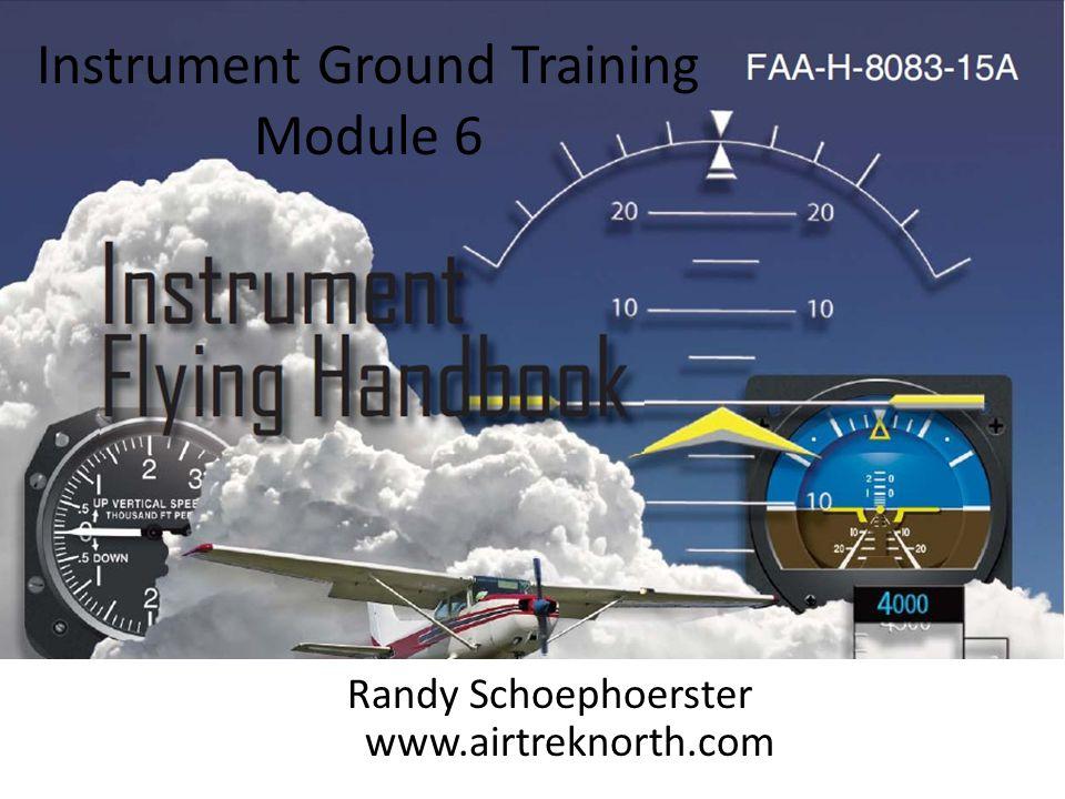 Instrument Ground Training Module 6