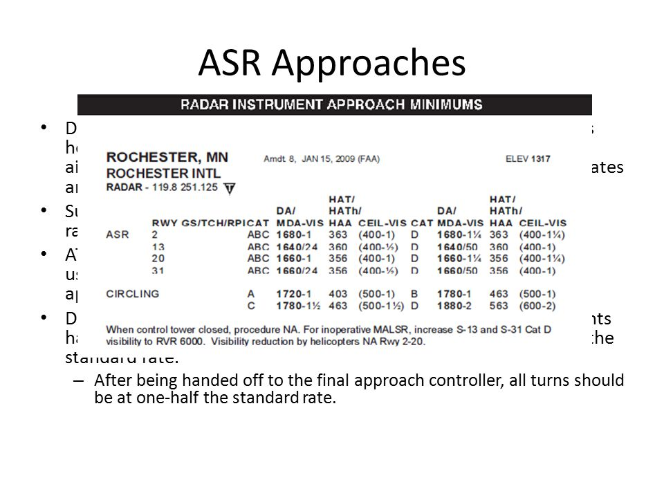 ASR Approaches
