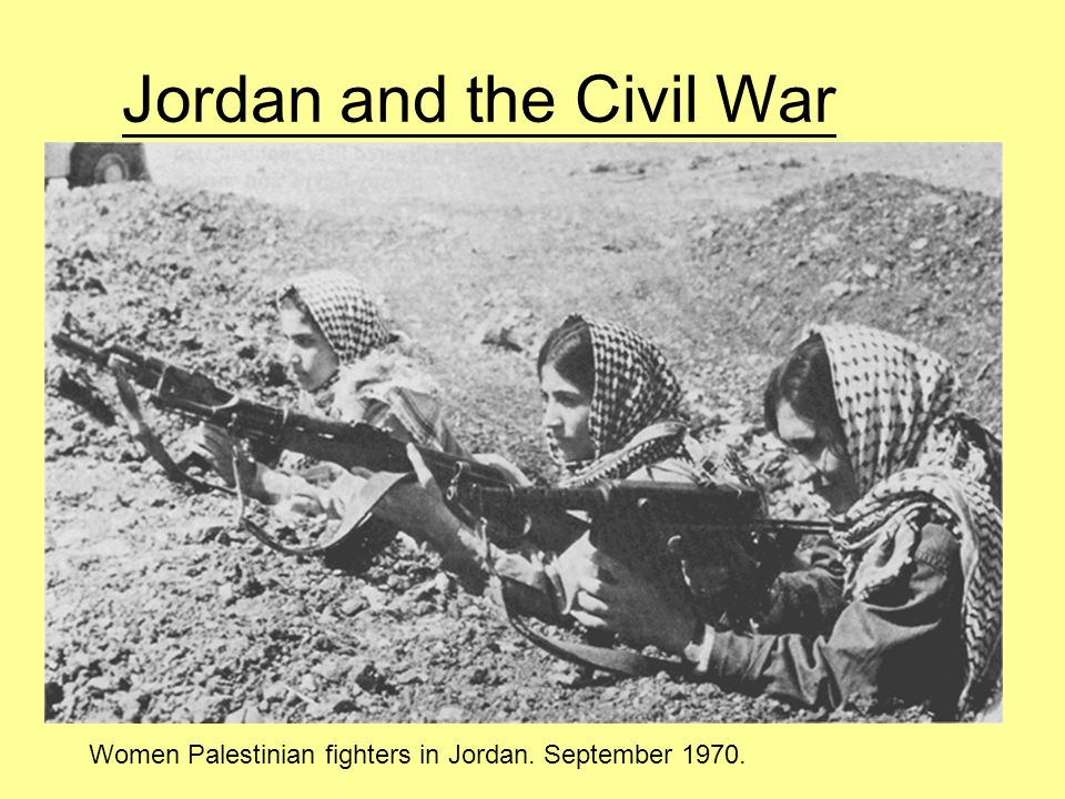 Jordan and the Civil War