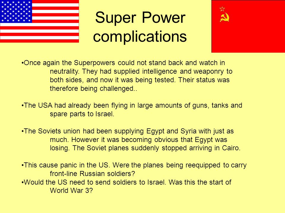Super Power complications