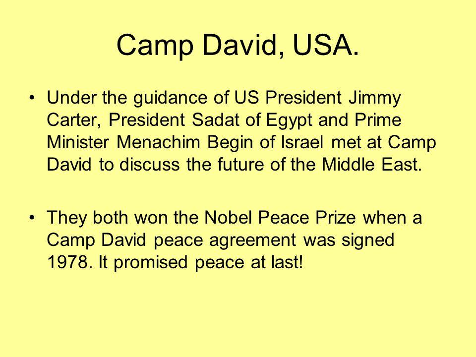 Camp David, USA.