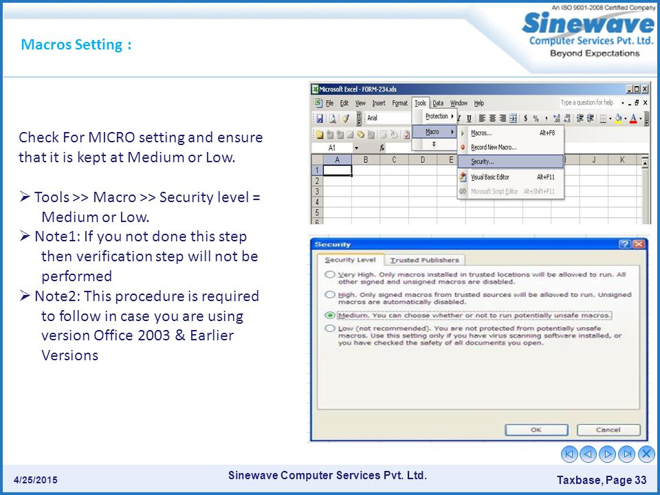 Check For MICRO setting and ensure that it is kept at Medium or Low.