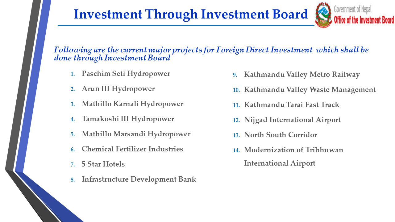 Investment Through Investment Board
