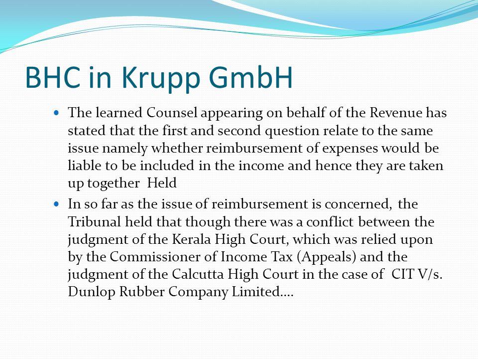 BHC in Krupp GmbH