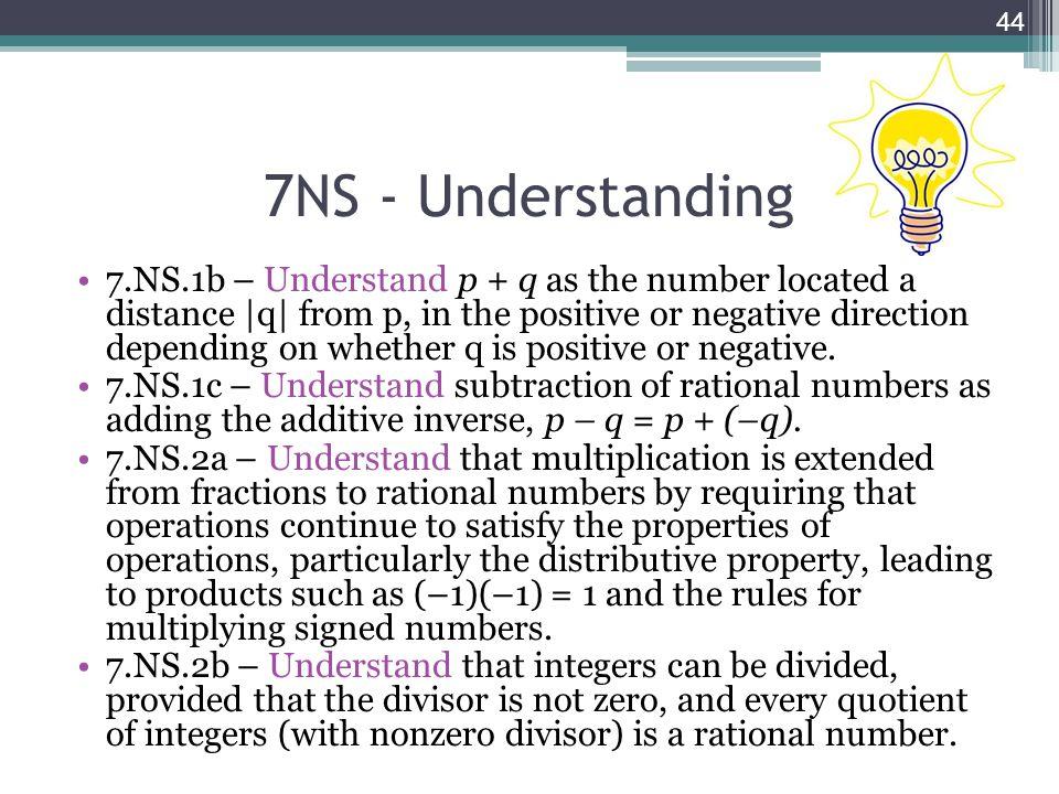 7NS - Understanding