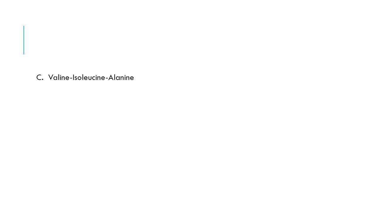 C. Valine-Isoleucine-Alanine