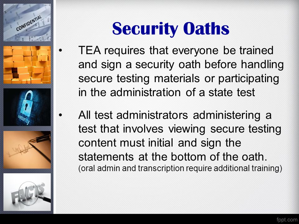 Security Oaths