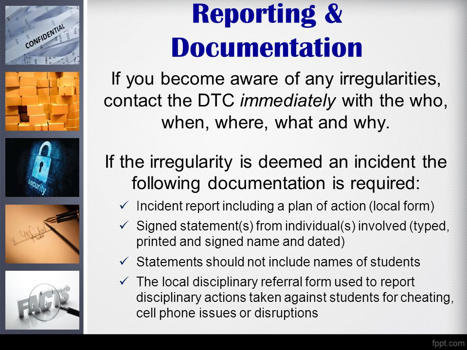Reporting & Documentation