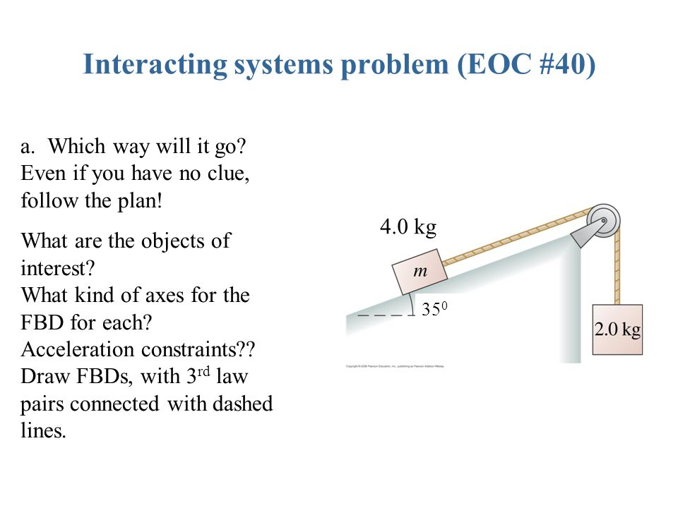 Interacting systems problem (EOC #40)
