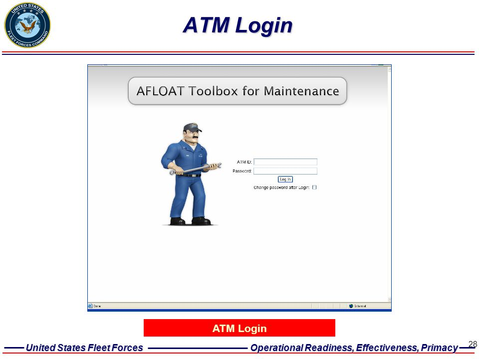ATM Login ATM Login