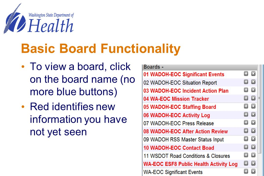 Basic Board Functionality