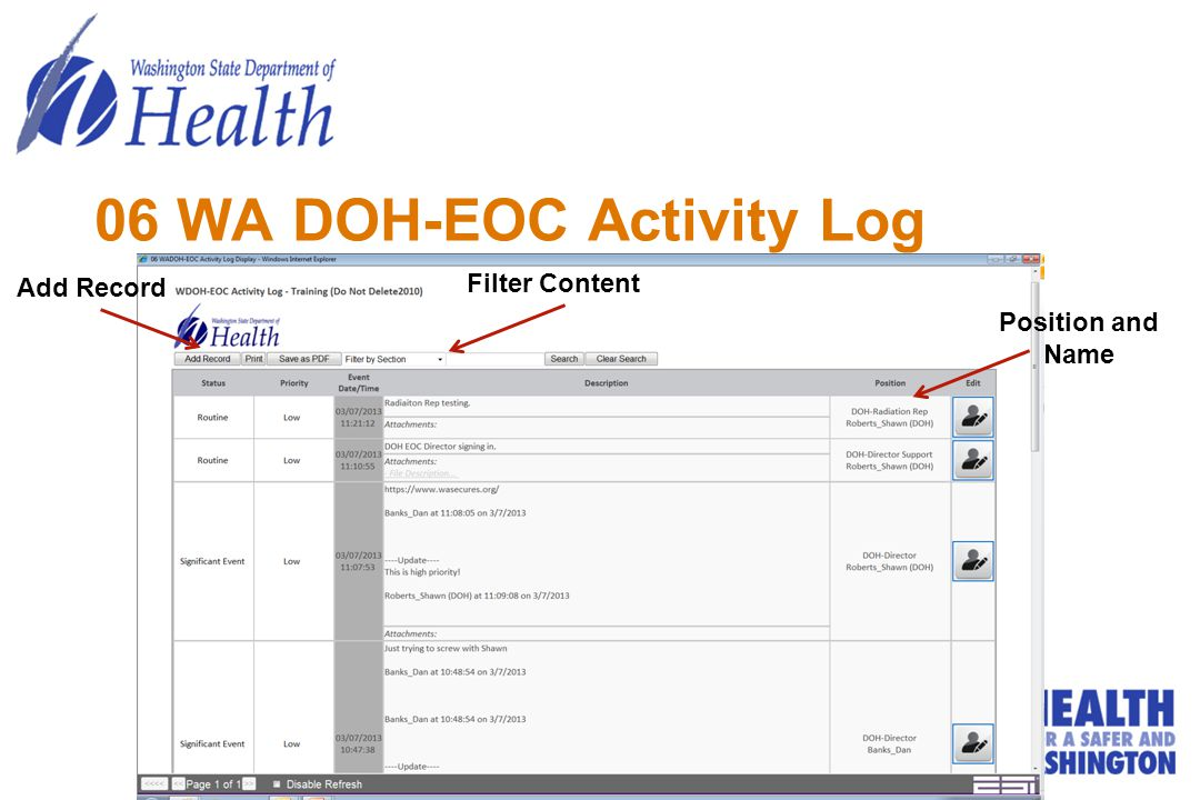 06 WA DOH-EOC Activity Log
