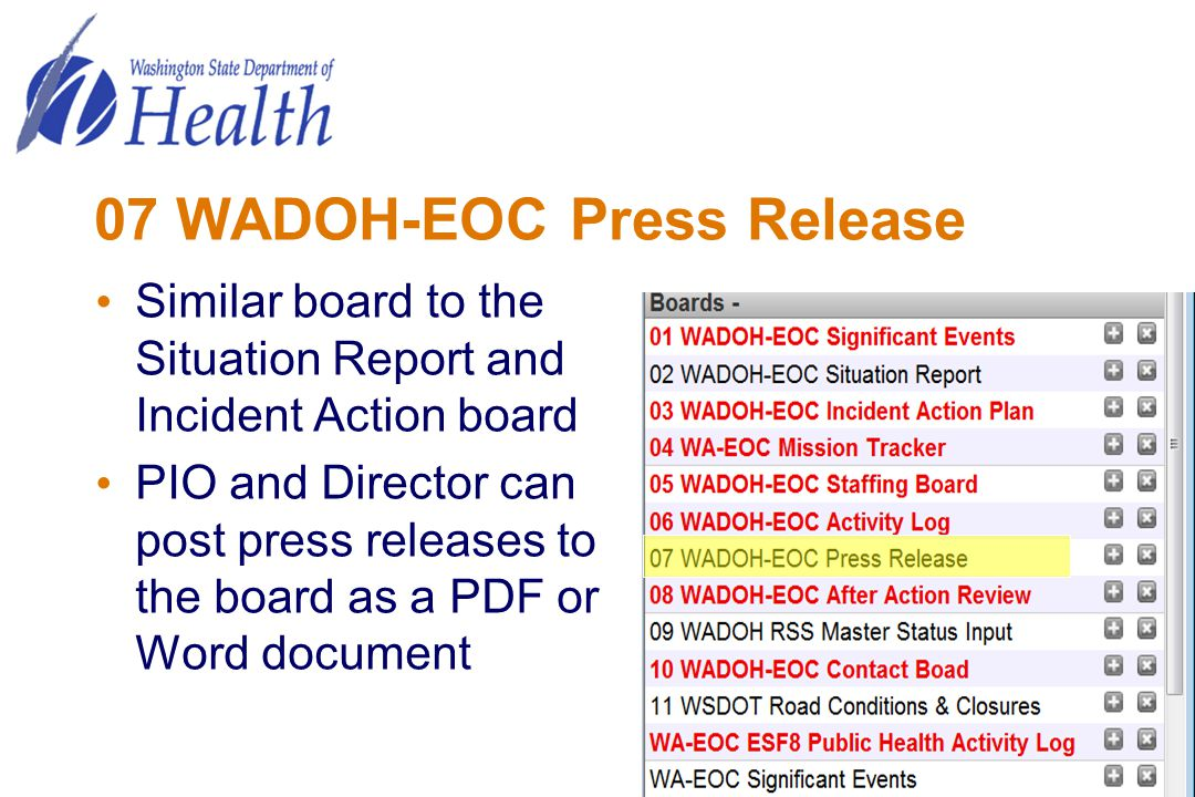 07 WADOH-EOC Press Release
