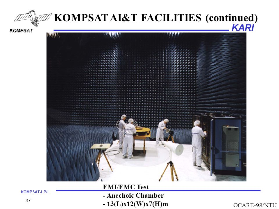 KOMPSAT AI&T FACILITIES (continued)