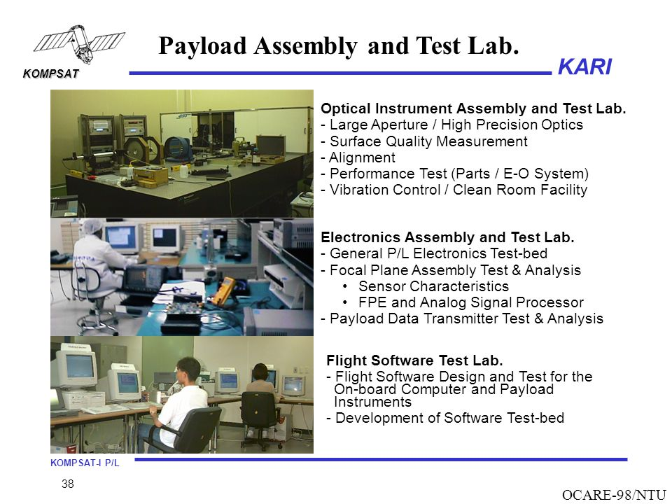 Payload Assembly and Test Lab.